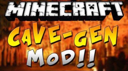Мод Cave Generation Mod для minecraft 1.7.4