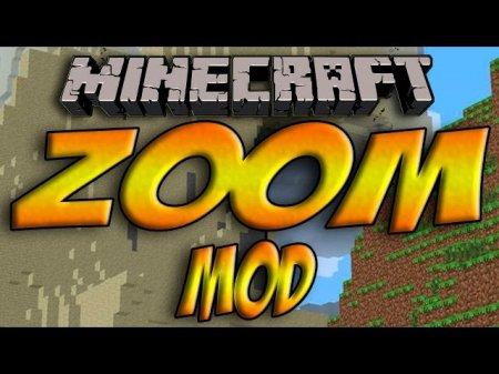 Мод Zoom Mod для minecraft 1.7.4