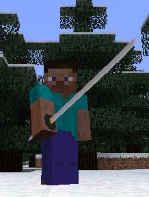 Minecraft 1.5.2 Katana Mod