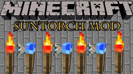 Minecraft 1.5.2 Suntorch Mod