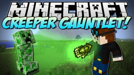 Minecraft 1.5.2 Creeper Gauntlet