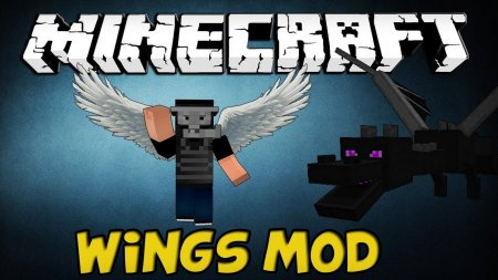 Survival Wings - крылья в Minecraft 1.5.2