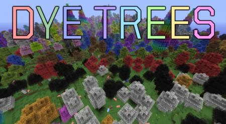 Minecraft 1.5.2 DyeTrees