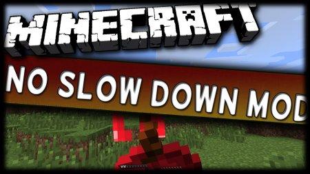 Minecraft 1.5.2 No Slow Down Mod
