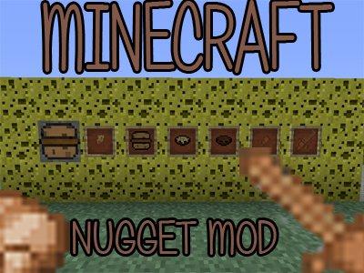 NUGGET MOD - Minecraft 1.7.2