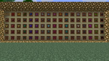 Colorful Armor — разноцветная броня для Minecraft