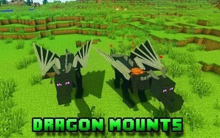 Dragon Mounts — приручение дракона в Minecraft