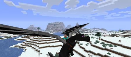 Игру майнкрафт мод дракон