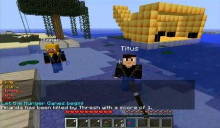 Hunger Games - Голодные игры для Minecraft 1.5.2