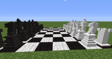 MineChess - шахматы для Minecraft