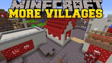 More Village Biomes - новые деревни для жителей в Minecraft