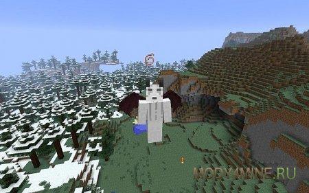 Angels & Demons - Крылья демонов и ангелов для Minecraft 1.6.4