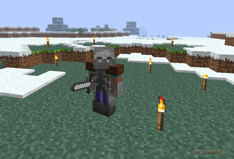 Мод mutant creatures 1.7.2