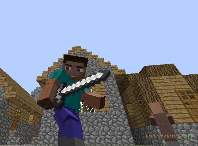 Animated player [1. 7. 10] [1. 6. 4] / моды для майнкрафт / minecraft.