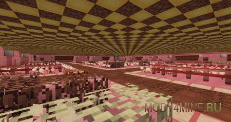 Подземная деревня с жителями-пряниками