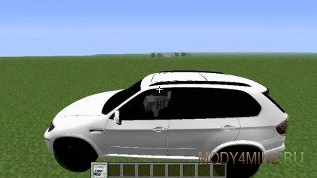 Crazy BMW Car - БМВ в Майнкрафт 1.4.7/1.6.2/1.6.4