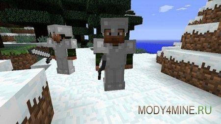 MineBattles - солдаты в Minecraft 1.6.4/1.7.2