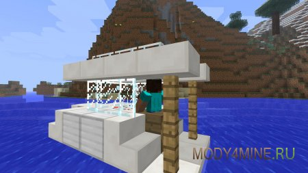 Archimedes Ships - корабли и дирижабли в Minecraft
