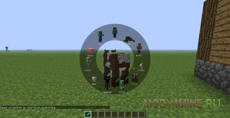 Morph Mod - превращение в мобов при убийстве