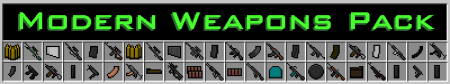 Flan's Content Pack: Modern Weapons Pack - Оружие