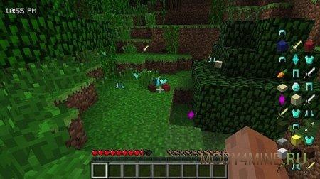 HUDini - полезная информация на экране в Minecraft 1.5.2/1.6.4