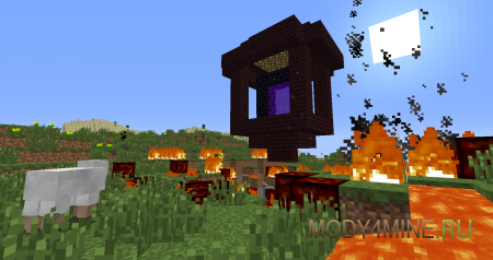 Falling Meteors — метеориты в Minecraft