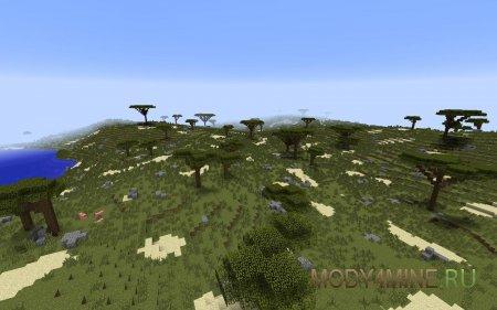 Better World Generation 4 - красивая генерация мира в Minecraft