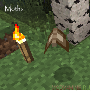 More Nature - мод на животных для Minecraft 1.6.4/1.7.2/.10