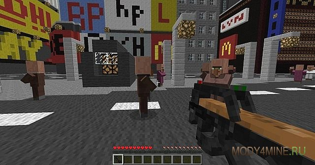 мод на майнкрафт 1.7.10 на 3д оружие и костюмы #9