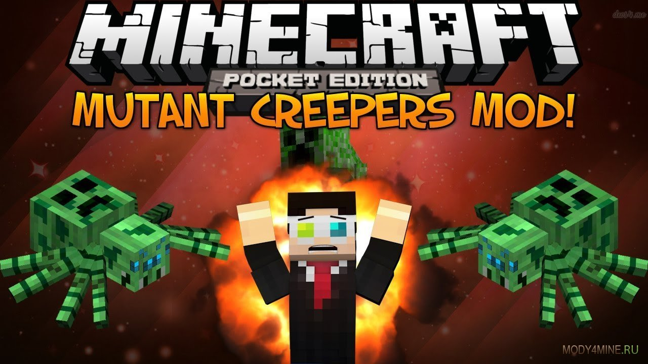 Моды для minecraft pocket edition