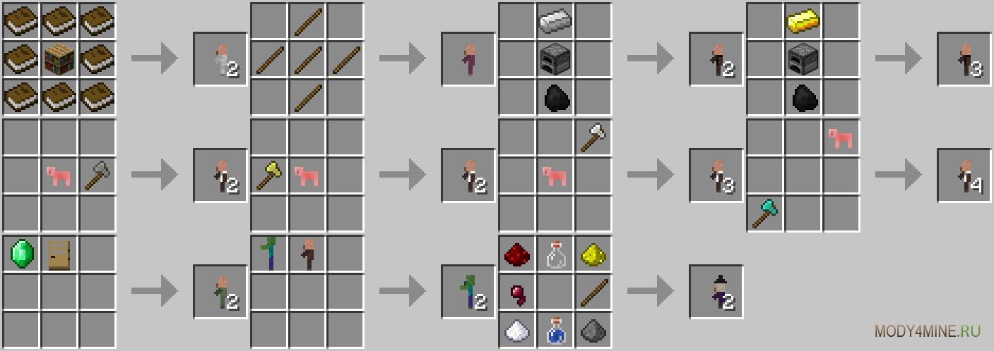 Мод На Minecraft 1.7 2 На Мобов