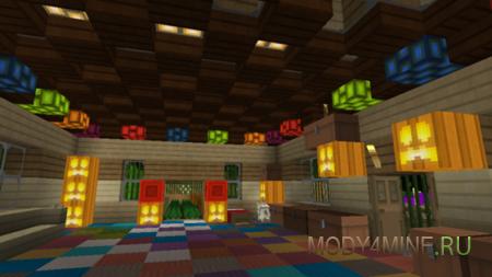 Мод More Glowstone для Minecraft PE 0.9.5