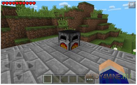 Мод ShadowCraft для Minecraft PE 0.9.4