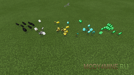 Мод Lucky Ores для Minecraft PE 0.8.1/0.9.0
