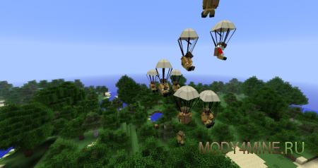 Мод Flan's для Minecraft 1.7.10