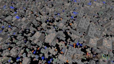 Чит X-ray для Minecraft 1.8
