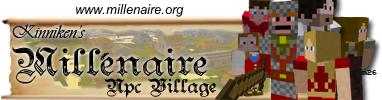 Millénaire — мод на деревни с NPC для Minecraft 1.12.2/1.7.10/1.7.2/1.6.4