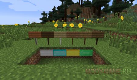 MoarSigns - цветные таблички в Minecraft 1.6.4/1.7.2/.10