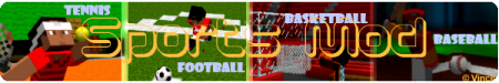 Sports Mod - мод на спорт для Minecraft 1.7.10