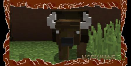 Bison Mod - мод на бизонов для Minecraft 1.8