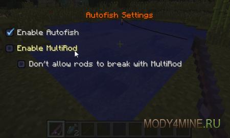Рыбачим на автопилоте с Autofish Mod 1.8