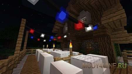 Fairy Lights Mod – гирлянды в Minecraft 1.14.4/1.12.2/1.11.2/1.10.2/1.8/1.7.10