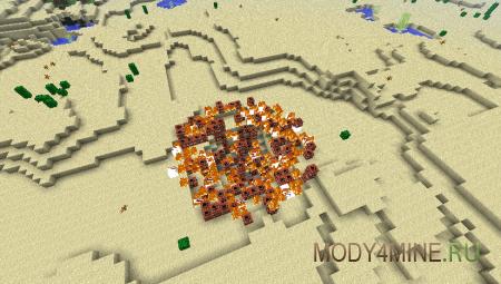 Too Much TNT - мод на динамит для Майнкрафт 1.5.2/1.6.4/1.7.2/1.7.10