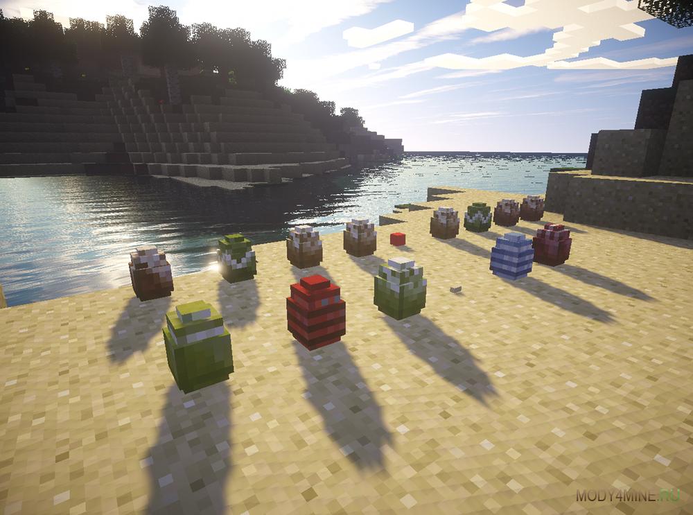 скачать мод на Minecraft на динозавров - фото 2