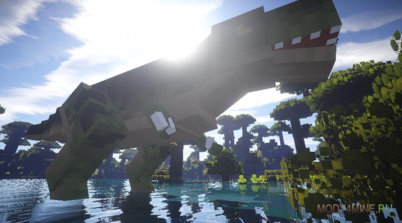 скачать мод на Minecraft на динозавров - фото 7