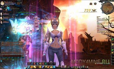 Персонаж Reborn Online 34 уровня