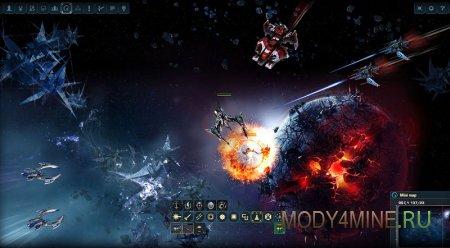 Скриншот геймлпея игры Дарк Орбит