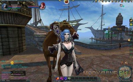 Скриншот с интерфейсом игры Dark Age