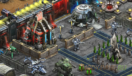 Скриншот геймплея Правила Войны