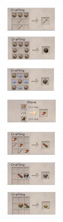 Рецепты крафта VintageCraft 1.8